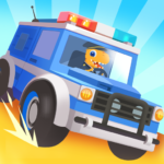 Dinosaur Police Car – Police Chase Games for Kids 1.1.3 (Mod)