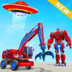 Excavator Robot Car Game – Elephant Robot Games 3d  1.2.0 (Mod)