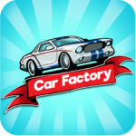 Idle Car Factory: Car Builder, Tycoon Games 2021🚓 12.9 (Mod)