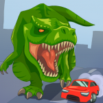 Jurassic Dinosaur: City rampage  2.12 (Mod)