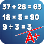 Math problems: mental arithmetic game 3.42 (Mod)