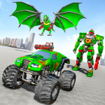Monster Truck Robot Wars – New Dragon Robot Game 1.1.5 (Mod)