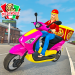 Moto Bike Pizza Delivery – Girl Food Game 1.0 (Mod)