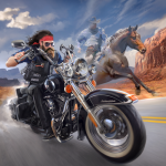 Outlaw Riders: War of Bikers 0.2.8 (Mod)