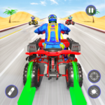 Quad Bike Traffic Shooting Games 2020: Bike Games 3.1 (Mod)