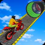 Racing Moto Bike Stunt Impossible Track Game 1.22 (Mod)