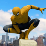 Spider Rope Hero Gangster New York City  1.5.16 (Mod)