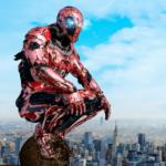 Super Crime Steel War Hero Iron Flying Mech Robot  1.2.5 (Mod)