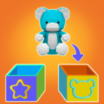 Toy sort 3D: How to be a dutiful kid? 1.0.0012 (Mod)