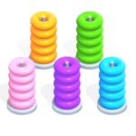 Color Hoop Stack Sort Puzzle  1.1.4 (Mod)