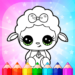 Flower Magic Color-kids coloring book with animals  3.9 (Mod)