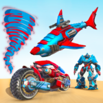 Shark Robot Car Game – Tornado Robot Bike Games 3d  1.1.2 (Mod)