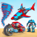 Shark Robot Car Game – Tornado Robot Bike Games 3d  1.1.2 (Mod)