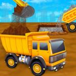 City Construction Vehicles – House Building Games  (Mod)