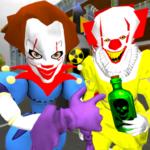 Clown Brothers. Neighbor Escape 3D  1.5 (Mod)