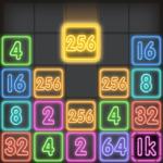 Drop Number™: Neon 2048  1.1.0 (Mod)