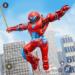 Flying Police Monster Robot Rope Hero: Crime City  (Mod)