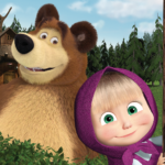 Masha and the Bear. Educational Games  6.4 (Mod)
