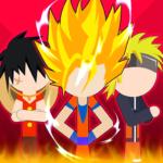 Super Stick Fight All-Star Hero: Chaos War Battle  (Mod)