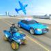 USA Police Car Transporter Games: Airplane Games  (Mod)