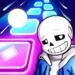 Undertale Theme Song Magic Beat Hop Tiles  (Mod)
