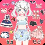 Vlinder Princess2:doll dress up games,style avatar  (Mod)