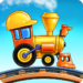 Train Games for Kids: station & railway building  4.1.6 (Mod)