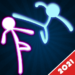 Stickman Fighting: 2 Player Funny Physics Games  (Mod)