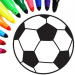Football coloring book game  16.2.6 (Mod)