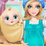 Ibu hamil Ibu merawat ibu yang baru lahir  (Mod)