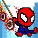 Rope Pixel Master – Rescue Hero Academy  (Mod)