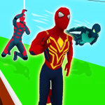 Superhero Transform Race Game  1.0.3 (Mod)