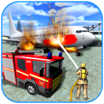 American Fire Fighter 2019: Airplane Rescue  (Mod)