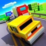 Blocky Highway: Traffic Racing  (Mod)