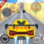 Car Racing in Fast Highway Traffic  (Mod)