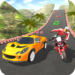 Car vs Bike Racing  (Mod)