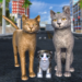 Cat Family Simulator: Stray Cute Kitty Game  (Mod)