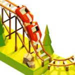 Coaster Builder: Roller Coaster 3D Puzzle Game  (Mod)
