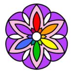 Cross Stitch Coloring Mandala  (Mod)
