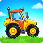Farm land and Harvest – farming kids games  (Mod)