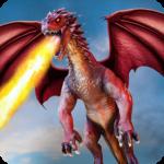 Flying Dragon Battle Simulator : City Attack  (Mod)