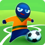 FootLOL: Crazy Soccer Free! Action Football game  (Mod)