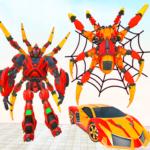 Grand Robot Transform Spider Games  (Mod)