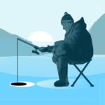 Ice fishing games for free. Fisherman simulator.  (Mod)