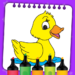 Kids Coloring Book Paint & Coloring Games for Kids  (Mod)