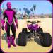Quads Superheroes Stunts Racing  (Mod)