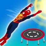 Superhero Flip Jump:Spider Sky  (Mod)