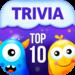TOP 10 TRIVIA –  Quiz Questions  (Mod)