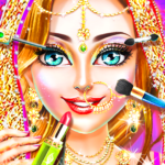 Traditional Wedding Salon – Makeup & Dress up Game  (Mod)