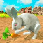 Wild Pet Rabbit Animal Sims -Forest Predator Craft  (Mod)